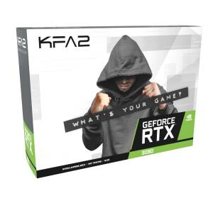 Placa video KFA2 GeForce RTX 3090 SG (1-Click OC), 24GB GDDR6X (384bit), DP, HDMI, OC, ARGB