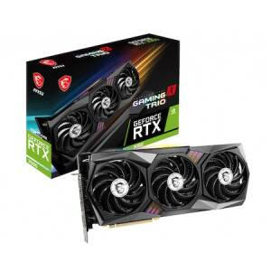 Placa video MSI GeForce RTX 3060 GAMING X TRIO, 12GB GDDR6, 192-bit