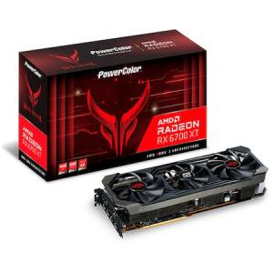 Placa video PowerColor Radeon RX 6700 XT Red Devil, 12GB GDDR6, 192-bit