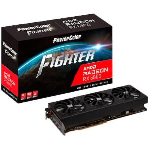 Placa video PowerColor Radeon RX 6800 Fighter, 16GB GDDR6, 256-bit
